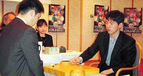 Ли Чанг Хо, 9 дан  vs Чанг Хао, 9 дан